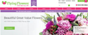 flowers by post tesco
