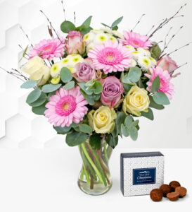 Country Garden - Free Chocs - Flower Delivery - Next Day Flower Delivery - Birthday Flowers - Birthday Flower Delivery