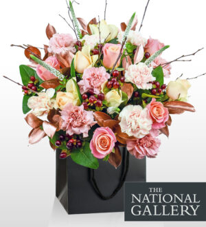 Da Vinci Burlington - National Gallery Flowers - National Gallery Bouquets - Luxury Flowers - Birthday Flowers - Luxury Flower Delivery